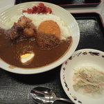 カレーの王様 - 王様カレー大盛り 780円(680円+100円)