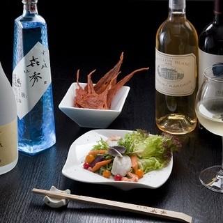 当店のシャリに合う日本酒だけを厳選仕入れ【日本酒】
