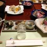 そば吉 - 料理写真:予約した会席料理