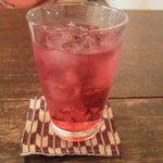 かげろう - お酢ジュース(桃とざくろ)