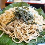 大黒屋 - 太め、腰のある手打ち蕎麦(2013.7.25)