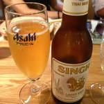 ニランカフェ - シンハービール