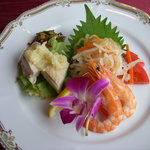 中国料理 梅園 - 料理写真:冷菜3種盛り合わせ