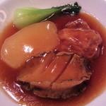 ginzarouran - 鮑・冬瓜・湯葉のオイスター煮込み