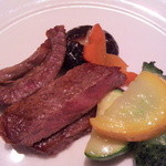 ginzarouran - 和牛と夏野菜の炒め