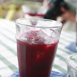 ティアツリー オーチャードカフェ - ランチセットのドリンクはブルーベリージュースを選びました。