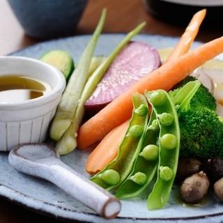 旬の無農薬野菜だから美味しい!