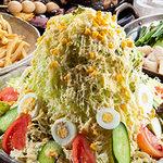 筑前屋 - 【バカ盛り 野菜サラダ】 赤字覚悟!野菜が足りない方は是非!