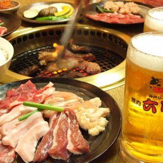 上質!焼肉食べ放題コース2580円(税抜)