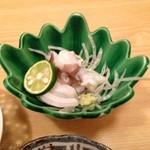 紀ノ川 - 1000円ランチ タコの刺身