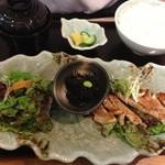 20343838 - 豚ロースステーキ定食@700円