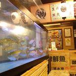 薩摩魚鮮水産 - 生けすの中からピチピチな活魚をどうぞ♪
