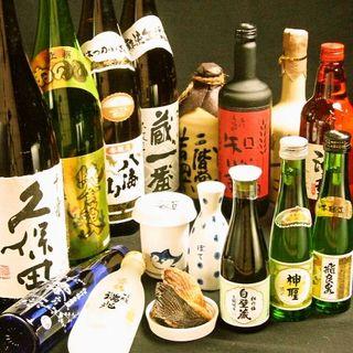 日本酒が充実しております