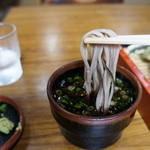 丸万 - こんな麺です