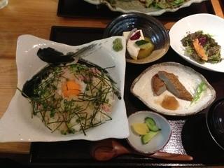 鯛めし 槇 - 鯛めしがいなセット@1480円