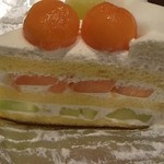 ハーブス - ヒルズ限定  メロンのケーキ