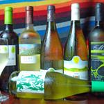 チェルシーデルンバ - 赤白・様々なオーガニックワインをそろえております。