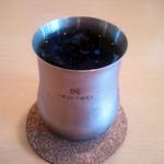 カフェ・ドンキホーテ - 食後のアイスコーヒー