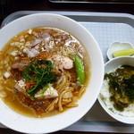 20350910 - 冷しラーメン&昆布とろろご飯(H25.7.30)