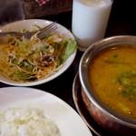 インド・ネパール料理 NAMASTE - ネパールヒマラヤスープカレーセット