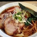 くろ川 - チャーシュー麺