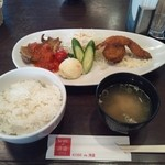 メリケン食堂 - お昼をいただきました。
