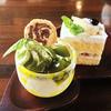 井尻太郎茶園 峠の里 - 料理写真:日替わりケーキセット