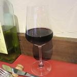 レストラン ボンジョリーナ - 赤ワイン