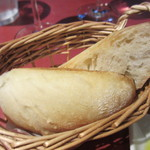 レストラン ボンジョリーナ - 自家製パン