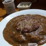 カフェ 裕介 - 料理写真:ハンバーグカレーセット