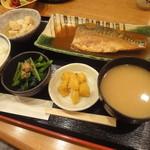小石川 かとう - サバ味噌定食