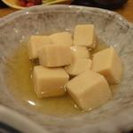 小石川 かとう - 高野豆腐の煮つけ