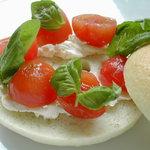 コーヒーマーケット - べーグル トマト&バジル