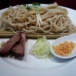 麺 eiji - もり蕎麦のアップ
