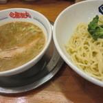 風雲丸 - つけ麺 冷や盛り 750円