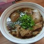 極麺 青二犀 - 醤油ラーメン+味玉