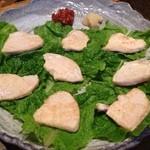 20364293 - ◆紀州朝挽き鶏の炙りサムギョプサル