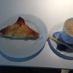 ウィリー ウィンキー - 馬路村柚子パイとブレンドコーヒーのセット@450円