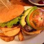 ヴィレッジ ヴァンガード ダイナー - ABC(アボカド・ベーコン・チーズ)バーガー \1080