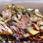 ここやねん - カリカリ麺&とろとろ玉子の「広島焼き」