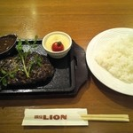Biaandowainguriruginzaraion - ハンバーグランチ☆ライス付き