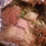 Sun Bee - 味噌マヨチキン☆ 鶏もも肉とお野菜のホイル焼き♪ あっさりな気分の時はこれ!この中にライスを投入すると、これまた美味しい(^ω^)