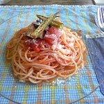2037643 - 夏野菜の冷製トマトスパゲティ