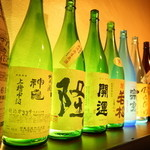 郷酒 - 定番のものから希少なものまで、豊富な種類が楽しめる『日本酒』