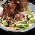 麺屋 利休 - 冷やしサラダ和え麺