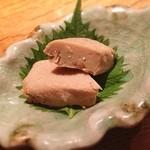 愛宕 酉はら - これ、な〜んだ?豆腐の味噌漬けです!日本酒にマジ合う!