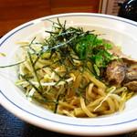 瓢華 湊町店 - ぶっかけそば(スープなし)550円