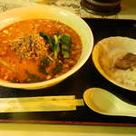 Chikuen - 坦々麺定食