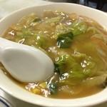 金龍菜館 - 中華丼