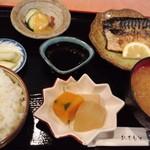 船水 - 日替サービス定食(さば塩焼き)